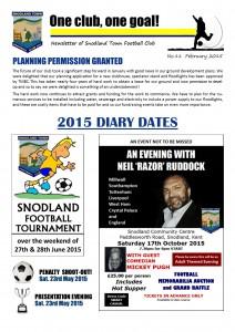Newsletter 11 February 2015
