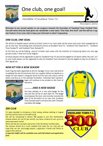 Newsletter 2 April 2012
