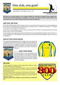 Newsletter 2 April 2012