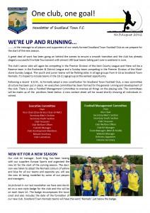 Newsletter 3 July 2012