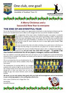 Newsletter 4 December 2012