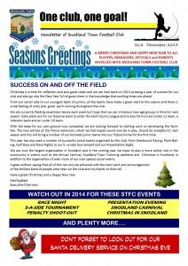 Newsletter 8 November 2013